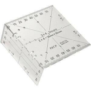 ラクダ Rakuda ツーバイフォー定規(2×4木材用) 12022