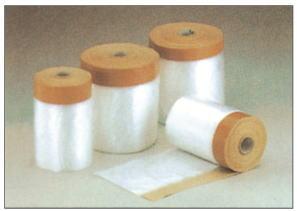 養生用 クロスマスカーテープ 塗装、左官工事用 1100×25m