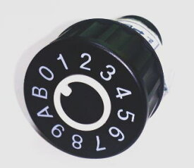 ハッピー金属 コンポス COMPOS(集合ポスト) ダイヤル錠 PJ-24