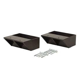 平安伸銅工業 LABRICO(ラブリコ)DXB-2 2×4 棚受シングル(2個入)2×4 SHELF SUPPORT SINGLE(壁面収納 賃貸住宅 壁 柱 棚 DIY つっぱり ツーバイフォー)