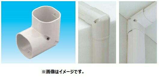 因幡電工 スリムダクトSD SC-100 No.0433 アイボリー 配管化粧カバー(一般用) 立面90度曲り スリムコーナー 1個
