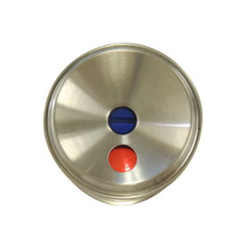川口技研 室内用 ドアノブ ハイス両玉 WC トイレ用 B/S60mm ステンレスヘアライン 4971771032162