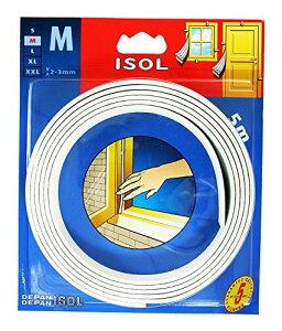 パネフリ工業 すきま風防止テープ M ホワイト 2.5mX2本 4571102562520 (725425)