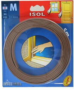 パネフリ工業 すきま風防止テープ M ブラウン 2.5mX2本 4571102562537 (725426)