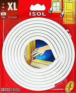 パネフリ工業 すきま風防止テープ XL ホワイト 2.5mX2本 4571102562568 (725429)