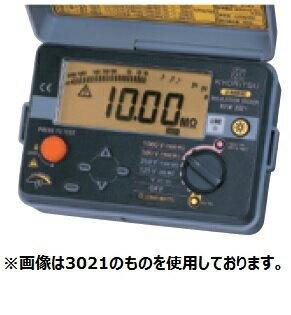 共立電気計器 絶縁抵抗計 キューメグ KEW 3023