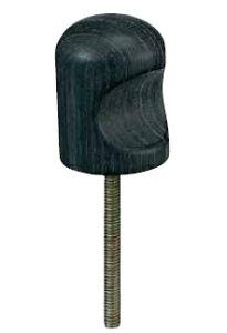 丸喜金属 W-190 180 クロウッド タカオつまみ サイズ:18 1個