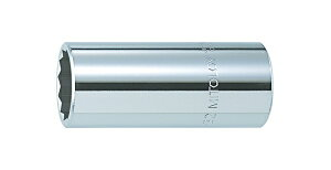 """ミトロイ ソケットレンチ関連用品 3/4""""(19.0mm) スペアソケット(ディープタイプ) 12角 6ML-41 41mm"""