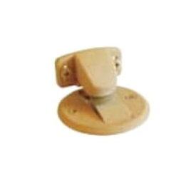 水上金属 フラット戸当り (面付タイプ/キャッチ機能付) DMF-11GL ゴールド 10個