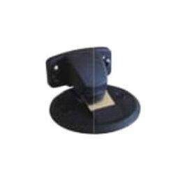 水上金属 フラット戸当り (面付タイプ/キャッチ機能付) DMF-11BL ブラック 10個