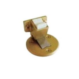 水上金属 フラット戸当りZ型 (面付タイプ/ストップ付) ゴールド塗装 ZFS-211GL 6個