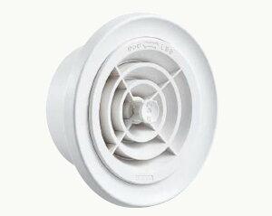 キョーワナスタ KS-8603PRNFK-# 屋内換気口 ツマミ開閉タイプ 花粉除去用フィルター・網付 キョーワ150 シルバーグレー(送料無料CO)