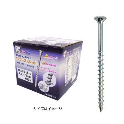 ノグチ 匠力 TRコーススレッド 半ネジ TRC45 3.8×45 1箱(1100本入)