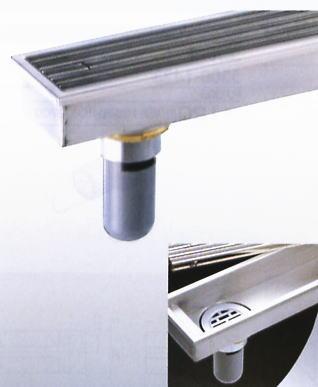 カクダイ 浴室排水グレーチング 浴室出入口の段差解消用に 150×950mm