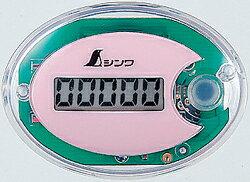 シンワ測定 74131 歩数計 ジョイウォーク P ピンク