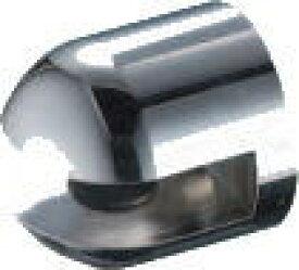 シロクマ 白熊印 キャノン棚グリップ TG-50 ホワイト/クローム 5〜8mm迄 1個 棚板ブラケット