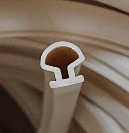 リクシル ロンカラー用パッキン ホワイト J3R1599 21926750(1m単位量り売り)