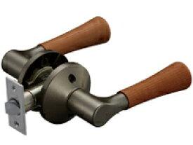 マツ六 兼用バリアフリーレバー木製空錠 EL5060-1MW-UMB アンバー+Mブラウン