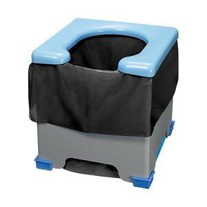 サンコー 非常用簡易トイレ R-39 (黒色袋)