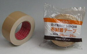 30巻入 スリオンテック 布ガムテープ 50mm×25m #3379
