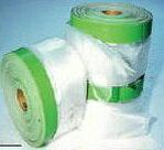 30巻入ケミカルマスカー1800×25m養生用マスカー布テープ付きポリフィルム