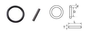 TOP トップ工業 OP-8 インパクト用Oリングピンセット 差込角 25.4mm