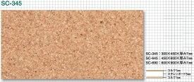 東亜コルク topacork ソフトコルク 無塗装 (450×600×T 7mm) SC-645 スチレンボード5mm コルク1mm 1枚
