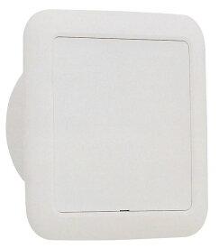 ユニックス 室内用製品 樹脂製 スリーブキャップ PC75BW 角型キャップ