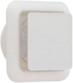 ユニックス 室内用製品 樹脂製 レジスター KRP100BWNFH 角型レジスター 遮音シート付 外気浄化フィルター付