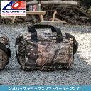 AOクーラーズ AO coolers エーオー クーラーズ 24 パック キャンバス デラックス ソフトクーラーバッグ クーラーボックス 24缶用 22.7L モッシーオーク 迷彩 ハンターシリーズ