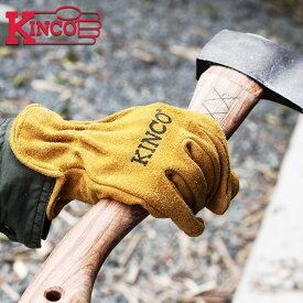 Kinco Gloves キンコ グローブ 手袋 アウトドア キャンプ 50 COWHIDE DRIVERS 本革グローブ S/M/L