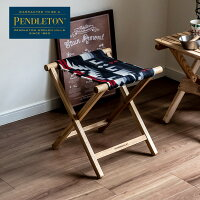 ペンドルトン日本正規販売店PENDLETONカスタムスツールリオランチョブラック送料無料椅子日本正規商品ウール製品