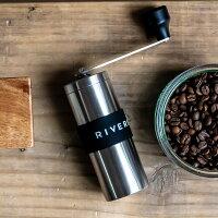 RIVERSコーヒーグラインダーグリットSILVERコーヒーミルグラインダーアウトドア