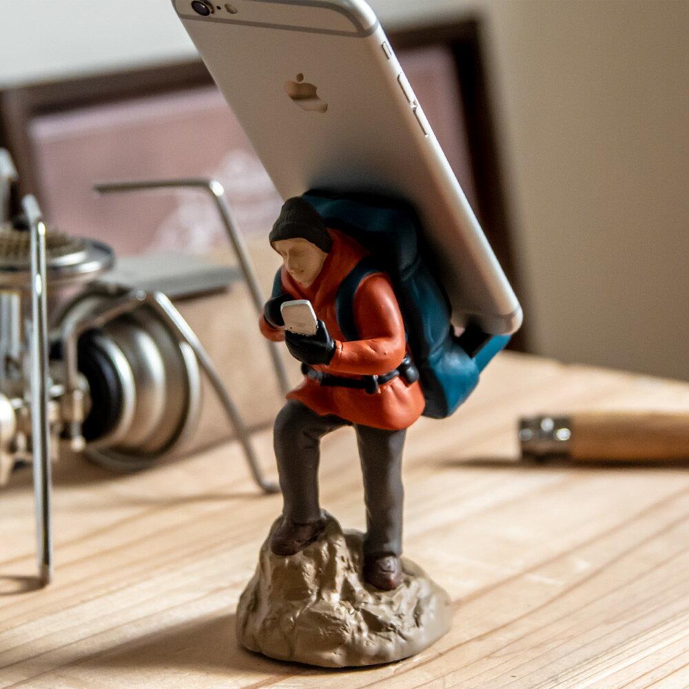 スマホスタンド スマホ スタンド おしゃれ アウトドア トレッキング キャンプ セトクラフト 卓上 デスク 机 iphone android