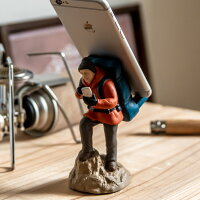 スマホスタンドスマホスタンドアウトドアトレッキングキャンプセトクラフト卓上デスク机iphoneandroid可愛い