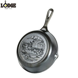 LODGE ロッジ スキレット 8インチ ダックロゴ L5SKWLDK