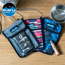 KAVU Keepitclose カブー キープイットクローズ ウォレット パスケース スリム アウトドア フェス ネックウォレット