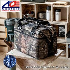 AOクーラーズ AO coolers エーオー クーラーズ 24パック キャンバス ソフトクーラーバッグ ブルーフィン クーラーボックス 24缶用 22.7L モッシーオーク 迷彩 ハンターシリーズ