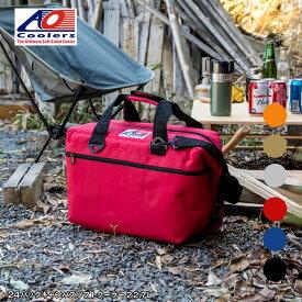 AOクーラーズ AOcoolers エーオー クーラーズ 24パック キャンバス ソフトクーラーバッグ クーラーボックス 24缶用 22.7L
