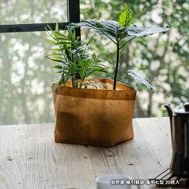 松野屋 蝋引紙袋 亀甲七型 7型 20枚入 日本製 ワックスペーパー 収納