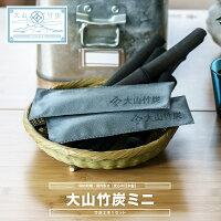 大山竹炭ミニ靴用調湿消臭抗菌チャコール湿気対策ニオイ対策