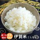伊賀米コシヒカリ 令和元年産 玄米20kg 送料無料 (10kgx2袋)  米ぬか無料 精米無料 白米 無洗米 3分づき 5分づき 7分づき 胚芽米 こし…