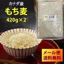 【メール便送料無料】【日時指定・代引き・同梱不可】もち麦 420g×2(840g) 大麦 ごはん 麦ご飯 胆汁酸ダイエット