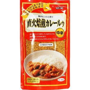 ムソー 直火焙煎カレールゥ・中辛 170g カレー粉