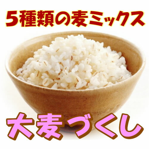 【送料無料】5種類の麦ミックス♪大麦づくし420g×10(4.2kg) | 麦ごはん 麦ご飯 押し麦 胚芽押麦 胆汁酸ダイエット もち麦【マクロビ】|s80