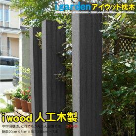 枕木 210cm 3本セット ブラック アイウッド人工木製枕木 樹脂 RCP HLS_DU