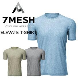 7MESH 7メッシュ ELEVATE SHIRT SS MEN'S 速乾 シャツ カジュアル サイクリング バイク 自転車 ハイキング ランニング アウトドア タウン 通勤 通学 キャンプ 送料無料