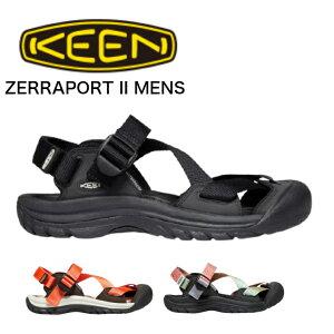 KEEN キーンZERRAPORT II ゼラポート ツー MENS メンズ サンダル スリッポン サボ ビーチサンダル ルームシューズ キャンプ アウトドア 送料無料