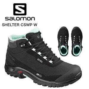【OUTLET SALE アウトレット セール 】SALOMON サロモン SHELTER CSWP レディース フットウェア トレイルランニングシューズ  サロモンシューズ サロモン アウトドアシューズ  冬靴 シューズ 靴