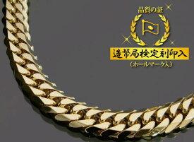 喜平ネックレス 18金 6面ダブル 六面キヘイ K18ゴールド 200g-60cm 喜平チェーン 造幣局検定刻印入